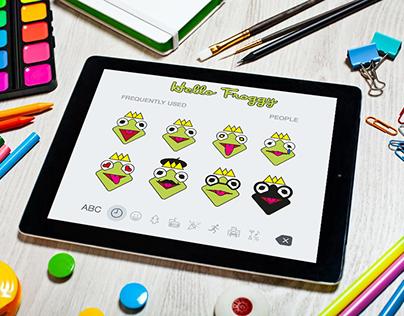 Emoji Hello Froggy