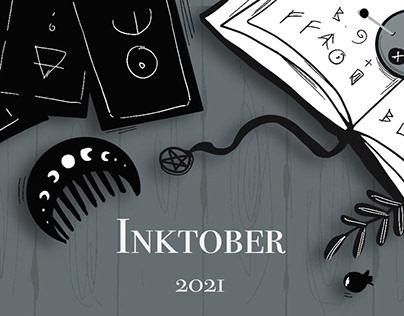 Inktober 2021 part 1