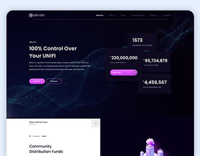 Cryptocurrency website revamp