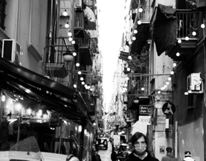 Naples black and white