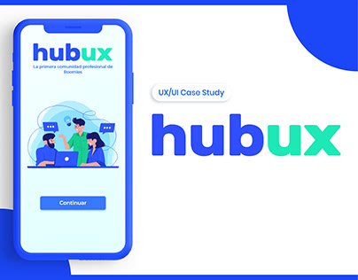 Hubux UX / UI Case Study