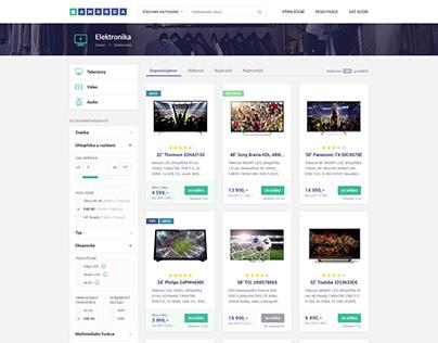 Amanda – aggregated e-commerce