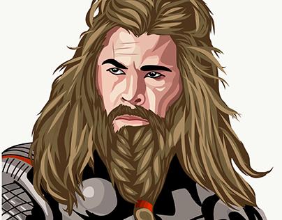 Thor(Chris Hemsworth)