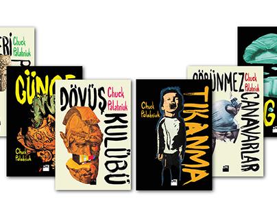 Chuck Palahniuk Serial Book Cover Design
