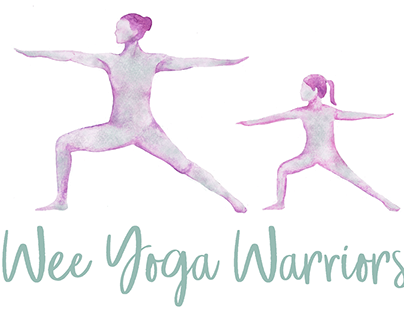 'Wee Yoga Warriors' Logo Design