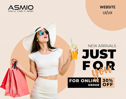 ASMIO - E-commerce website