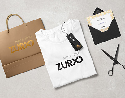 Logo for Zurxo - Men's Shop. 2015