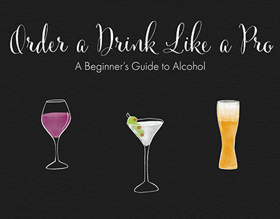 Order a Drink Infographic