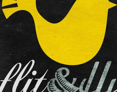 Branding for Etsy Art Shop - Flit&Fly