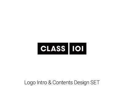 CLASS101 Logo Intro & Contents Design SET