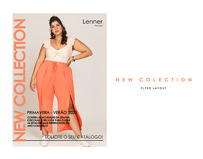 Digital Flyer - NEW COLLECTION #1 Lenner Plus Size