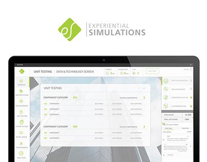 eLearning Website & Game UI Software Design