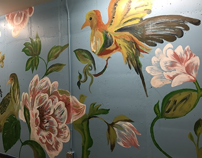 American Cancer Society mural