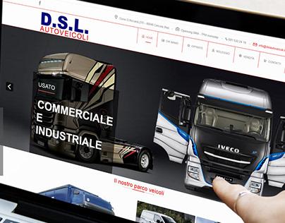 Progettazione sito per DSLAutoveicoli dslautoveicoli.it