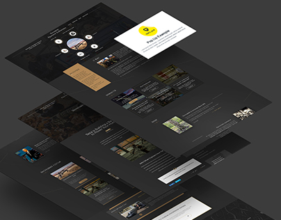 Web UX/UI  Lobaev Website redesign
