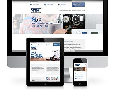 Webdesign: Wilhelm-Wärmetechnik