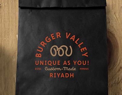 Burger Valley Branding