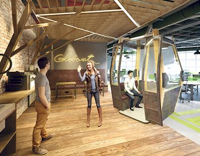 Globant Medellin Office design