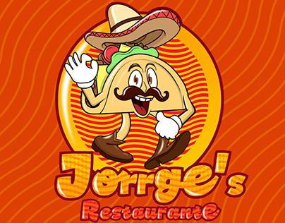 Jorrge's Restaurant Mascot