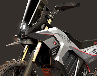Honda CR Dakar Proto