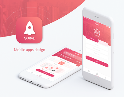 Suttle Mobile Application Design