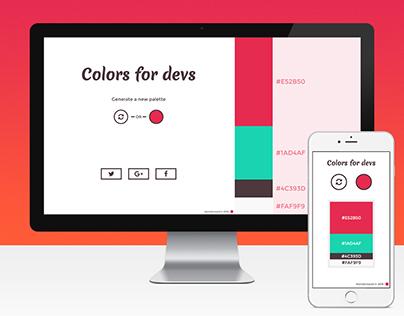Colors for devs