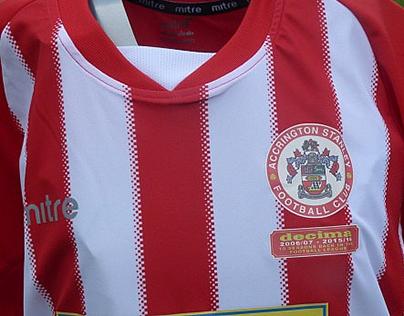 Accrington Stanley - Decima - Official Kit Badge
