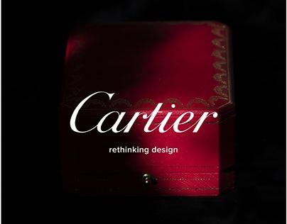 Cartier website redesign