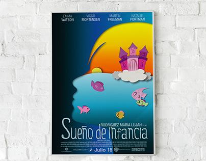 Afiche película infantil
