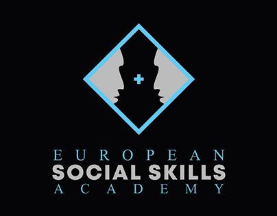 Logo design for branding a social skill academy