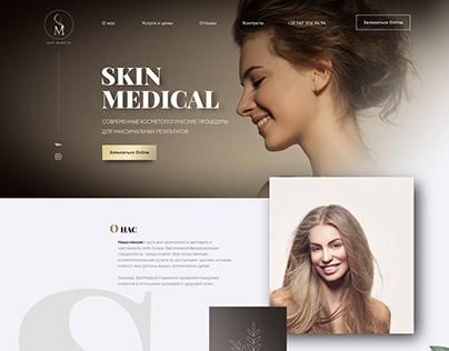 Landingpage for SkinMedical