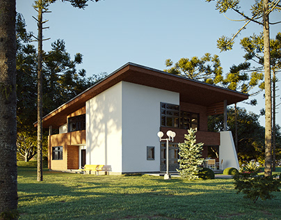 Modern Cottage | CGI