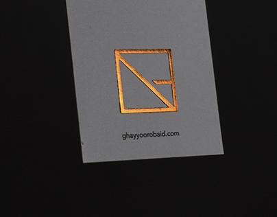 Ghayyoor Obaid Architects-Identity Design