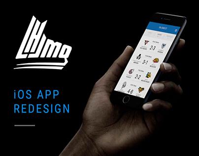 iOS app redesign •LHJMQ