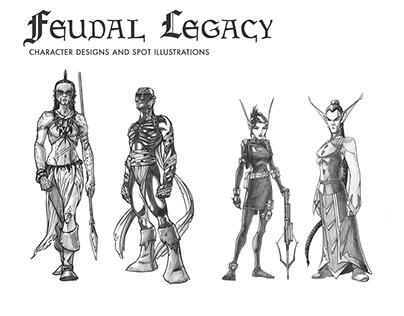 Feudal Legacy Designs and Illustrations