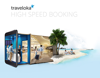 Traveloka - High Speed Booking | Print Ads