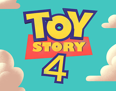 Toy Story 4 Illustrated Movie Poster