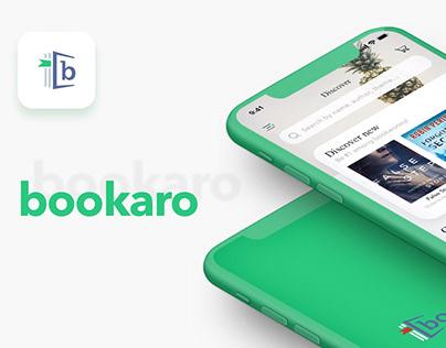Bookaro - e-commerce app concept