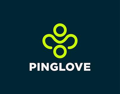 Ping-Love Logo Design