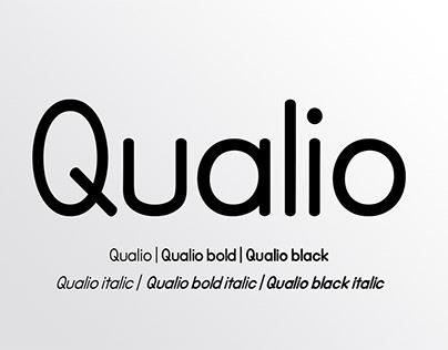 Qualio font serif