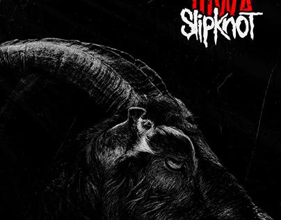Slipknot IOWA Album Cover ART REMAKE
