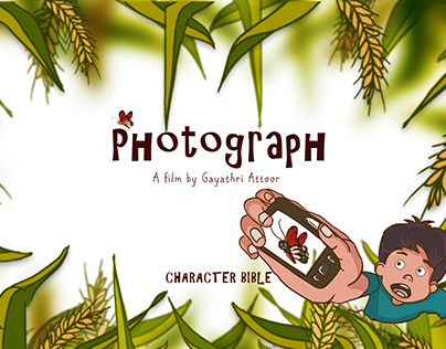PHOTOGRAPH: Character design bible