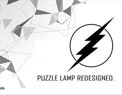 Puzzle lamp redesigned