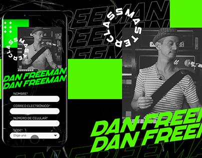 DAN FREEMAN - LIVE ACT MASTERCLASS