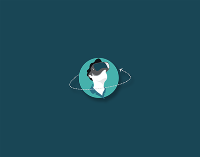 Logo animation for Easy Vacay VR Travel planning App
