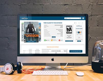 UX/UI | EEDAR's GamePulse 3