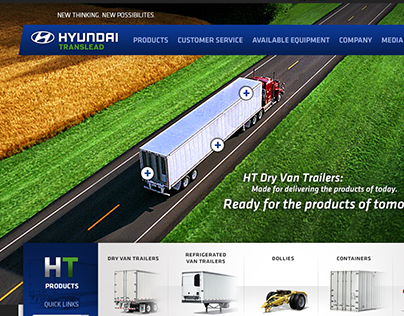 Hyundai Translead | Website Redesign Pitch