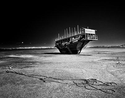 Al Hadd Lagoon . Oman