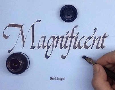 Magnificent calligraphy