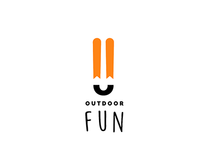 Logotype + visual playground Rebranding for OutdoorFun
